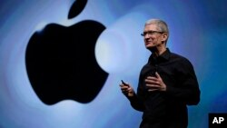 CEO Apple Tim Cook dijadwalkan hadir di hadapan sebuah panel penyelidik Senat hari Selasa (21/5).