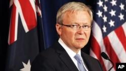 澳大利亞前總理陸克文