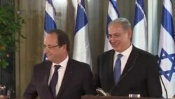 Hollande to Israel: France Will Keep Sanctions on Iran