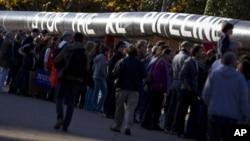 Συγκέντρωση διαμαρτυρίας έξω από το Λευκό Οίκο