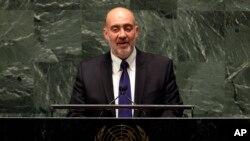 Đại sứ Israel tại LHQ, Ron Prosor, chỉ trích cộng đồng quốc tế về việc ủng hộ TT Palestine Mahmoud Abbas.