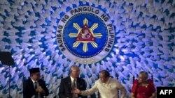 Moro Islamic Liberation Front (MILF) အဖြဲ႔နဲ႔ အစိုးရၾကား သေဘာတူညီခ်က္ လက္မွတ္ေရးထုိး။ (မတ္လ ၂၇၊ ၂၀၁၄)