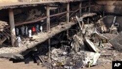지난 달 21일 반군 단체 알샤바브가 케냐의 수도 나이로비의 한 쇼핑몰을 공격해 수십명의 사상자를 냈다. (자료사진)