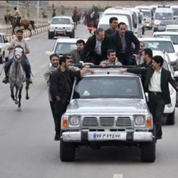 رییس جمهوری ایران در اردبیل اتهام ارتباط دولت با اختلاس را رد کرد