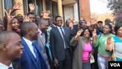 Abalandeli bomanyano weMDC Alliance abakhululwe ngumthethwandaba eHarare.