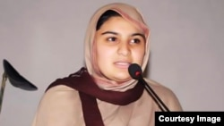 FILE - Hadiqa Bashir of Pakistan is seen in this undated file photo.