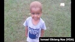 Les autorités gabonaises sont à la recherche du petit Rinaldi, 3 ans, kidnappé à Libreville. (VOA/Ismael Obiang Nze)