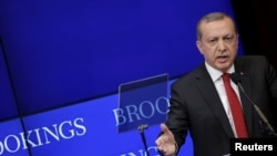 Recep Tayyip Erdogan, Washington, 31 mars 2016.