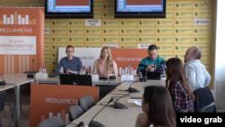 Predstavljanje medijskog Medijametra, u Medijacentru u Beogradu, 22. aprila 2019.