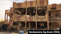Après un attentat à Gao, au Mali, le 13 novembre 2018. (VOA/Souleymane Ag Anara)