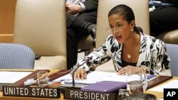 Susan Rice , embaixadora americana nas Nações Unidas (Arquivo)