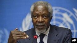 Kofi Annan mengundurkan diri sebagai utusan khusus PBB dan Liga Arab untuk perdamaian Suriah (foto: dok).