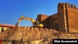 Təbriz - Tarixi Ərk qalası