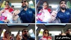 انتشار این ویدئو از افشانی و همسرش در حالی که سلاح به دست دارد، بهانه بازداشت او شد.