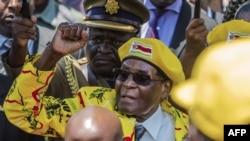 Robert Mugabe mu 2017