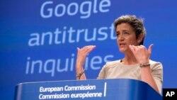 欧盟竞争委员会专员玛格丽特·维斯塔格