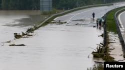 德國受洪水侵襲