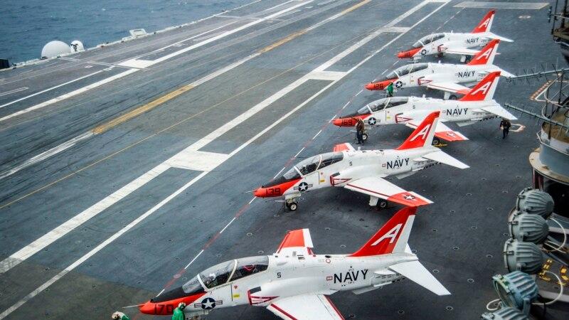 В Техасі розбився тренувальний американський військовий літак
