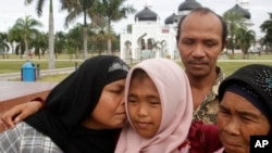 ဆူနာမီမွာ ေပ်ာက္သြားတဲ့ သမီးကို မိသားစု ျပန္ရွာေတြ႔။
