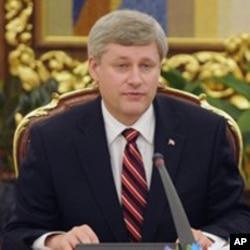 加拿大總理哈珀(資料圖片)