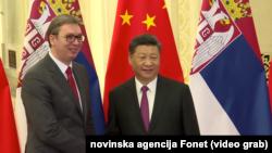 Predsednik Kine Ši Đinping i predsednik Srbije Aleksadar Vučić, 2019.