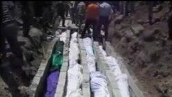 2012-05-27 美國之音視頻新聞: 敘利亞政府炮擊90多人喪生