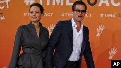 """La pareja también aparecerá pronto en la pantalla grande en la película """"By the sea, in Malta""""."""