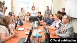 ABŞ səfiri Li Litzenberger Zaqatala rayonunda yeni layihələrin açılışında iştirak edib
