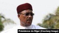 Le président Issoufou Mahamadou, à Niamey, Niger, 23 décembre 2017. (Présidence du Niger)