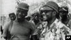 Nino Vieira e Amílcar Cabral (direita)