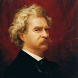 American author Mark Twain