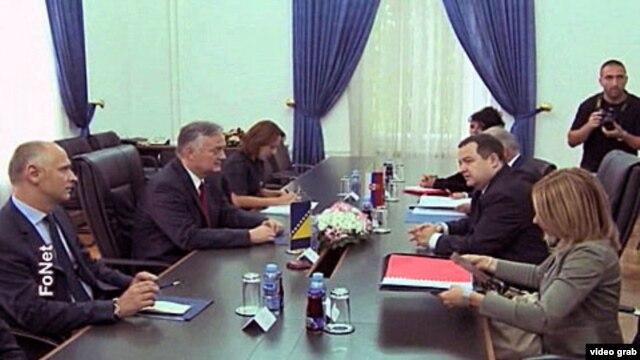 Susret ministra inostranih poslova Bosne i Hercegovine Zlatka Lagumdžije i premijera Srbije Ivice Dačića
