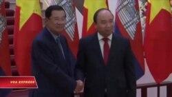 Thủ tướng Campuchia thăm Việt Nam, bàn các vấn đề 'nóng'