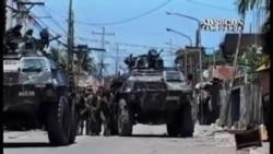 菲律宾副总统与反叛军谈停火