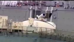 2013-04-09 美國之音視頻新聞: 美軍公佈新式激光武器