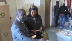 """茨萬吉拉伊將津巴布韋總統選舉斥為""""鬧劇"""""""