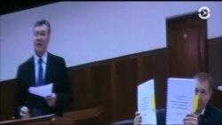 Допрос Виктора Януковича продолжался несколько часов