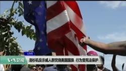 法学专家称焚烧国旗行为受宪法保护