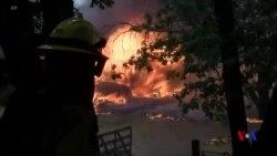 美國加州大火繼續蔓延消防人員一死三傷