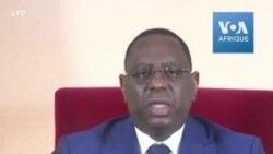 Coronavirus : le président Sall déclare l'état d'urgence