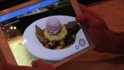 منوی سهبعدی رستورانی در نیویورک به کمک مشتریان آمده است