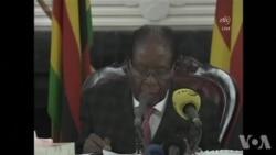 Le président Mugabe n'annonce pas sa démission (vidéo)
