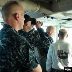 Žene na američkom nosaču aviona USS Lincoln
