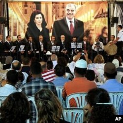 A tribute to assassinated former Prime Minister Rafik Hariri in Beirut, 01 sep 2010