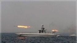 اقدام ایران به پرتاب موشک میانبرد در خلیج فارس