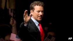 미국 공화당 소속 랜드 폴 캔터키 주 상원의원. (자료사진)