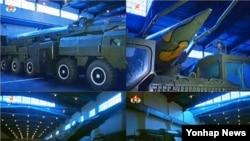북한이 2013년 공개한 홍보동영상에 등장한 북한의 탄도미사일 발사대 조립시설 (사진=38노스 웹사이트)