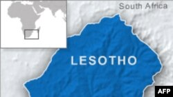 Peta lokasi Lesotho, Afrika Selatan (Foto: dok)