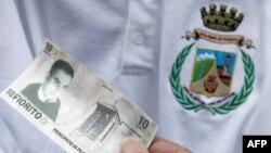 Валюта и герб Филеттино