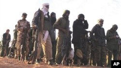 Rebelles touareg dans le Nord-Mali (fév. 2012)